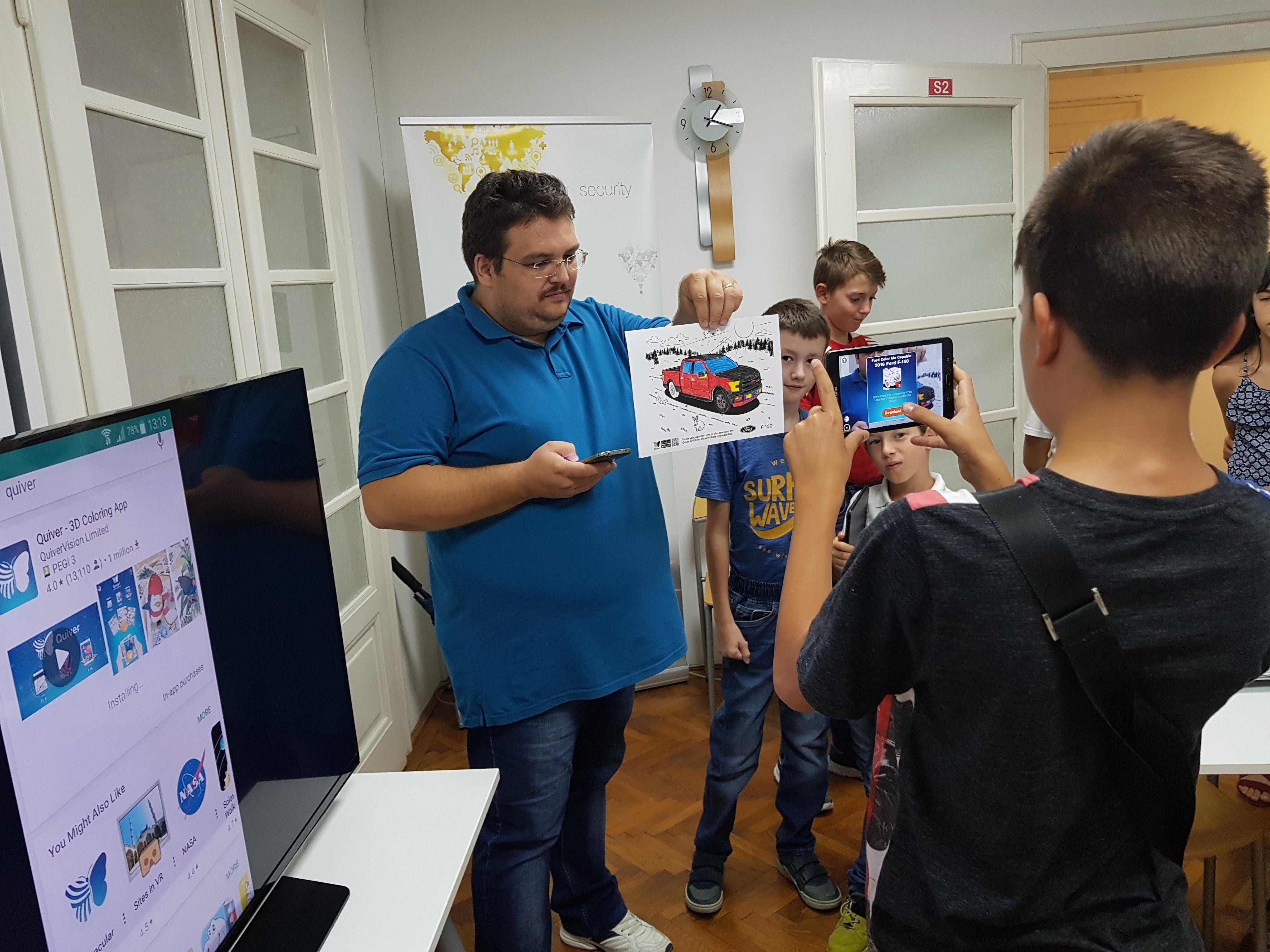 """SIBIU: """"Web for Kids"""" – un nou curs din 03 martie 2018"""