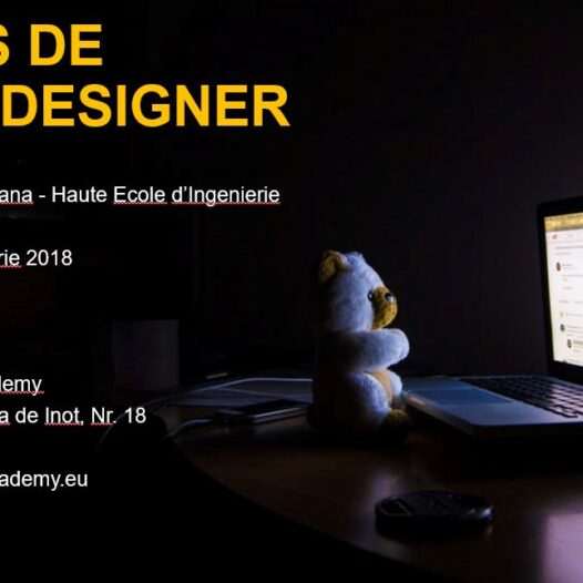 Web Designer – din 24 septembrie 2018